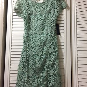 c01537e3fec5 Lulu's Dresses | Lulus Romance Language Mint Backless Lace Dress ...